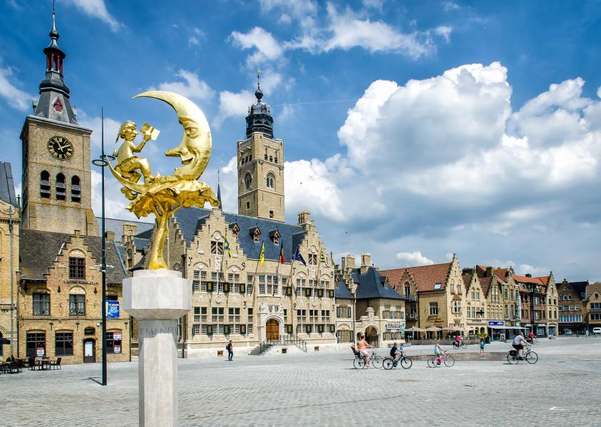 Banner of Stad Diksmuide