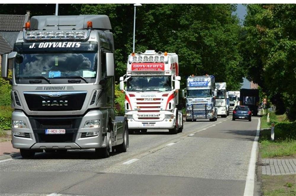 Afbeeldingsresultaat voor fotos truckrun turnhout