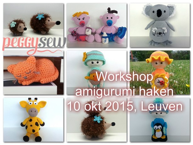 Hoplr Leuven 10 October 2015 Workshop Amigurumi Haken Leuven